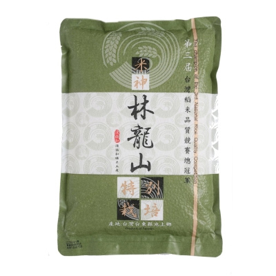 【陳協和池上米】林龍山的米(2公斤x5包)