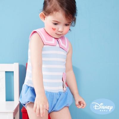 Disney Baby 歡樂水手米妮包屁衣 淺藍