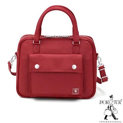 PORTER-復刻新作MILKY-兩用時尚手提包-紅