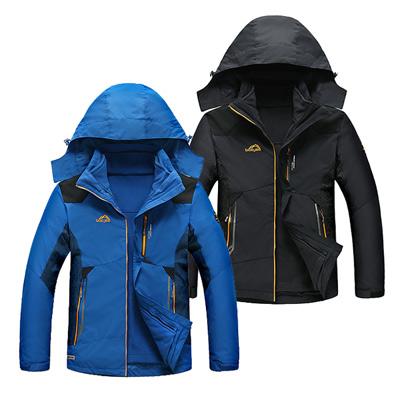 美國熊 滑雪登山防風保暖 防水 輕量兩件式風衣