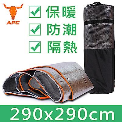 APC-雙面加厚防水鋁膜墊/野餐墊-夾3mm海綿(大號290x290cm)
