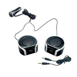 YAC手機音樂播放器附2.4AUBS插座( TP-196)-急速配
