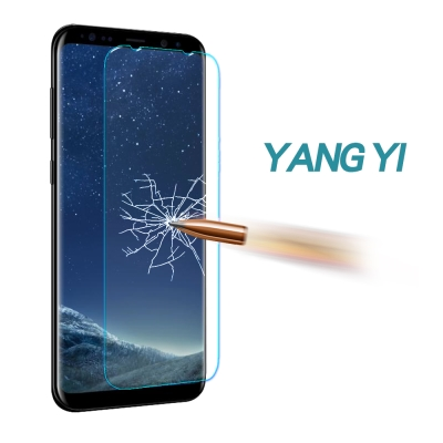 揚邑 Samsung Galaxy S8 Plus 6.2吋 9H鋼化玻璃保護貼...