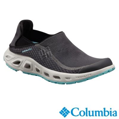 【Columbia哥倫比亞】女-水陸兩用鞋-灰色 UBL44800GY