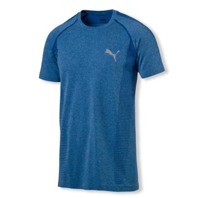 PUMA-男性基本系列evoKNIT短袖T恤-寶石藍-歐規
