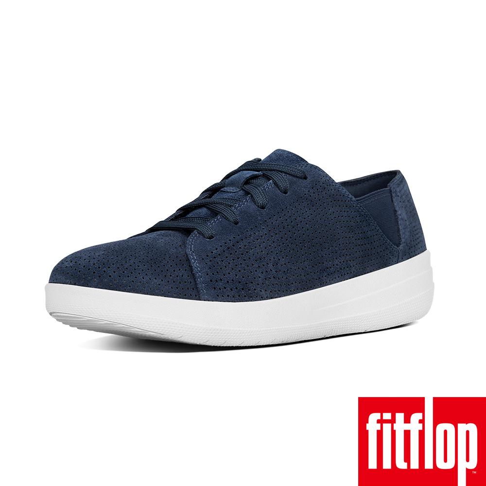 FitFlop TM-F-SPORTY TM PERFSUEDE SNEAKER藍