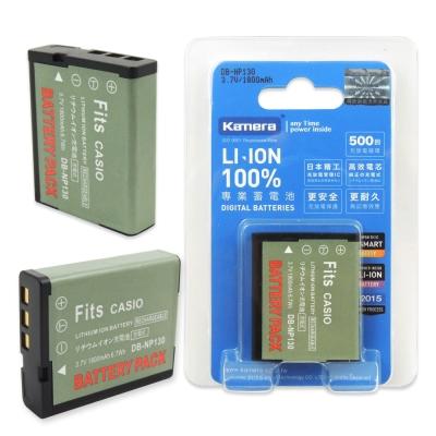 Kamera 佳美能 For Casio NP-130 高容量相機鋰電池
