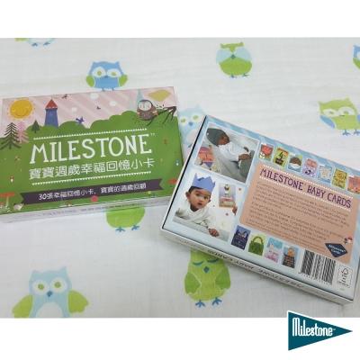 【彌月禮】荷蘭 Milestone Cards 寶寶週歲幸福回憶小卡(中英文版)