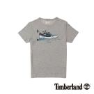 Timberland 男款中麻灰戶外Coolmax速乾短袖T恤
