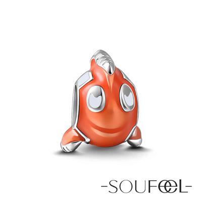 SOUFEEL索菲爾 925純銀珠飾 小丑魚 串珠
