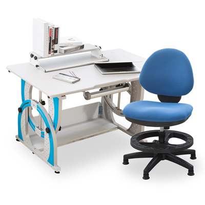 時尚屋-史帝夫兒童伸縮成長書桌椅組可選色-免運費