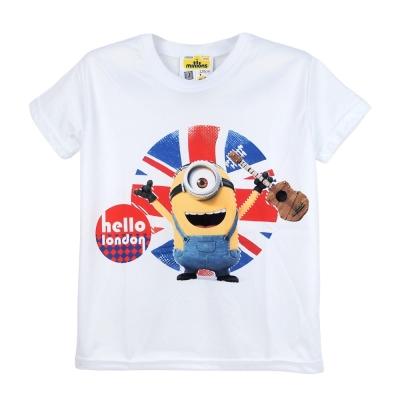 【小小兵】Minions 英倫風T_shirt白