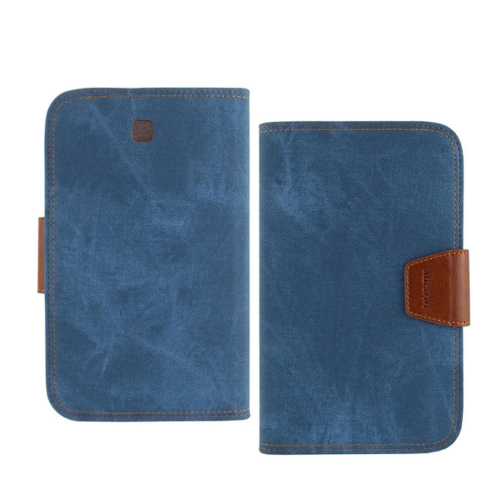 Miravivi Samsung Galaxy Tab3 7.0 個性牛仔側立皮套