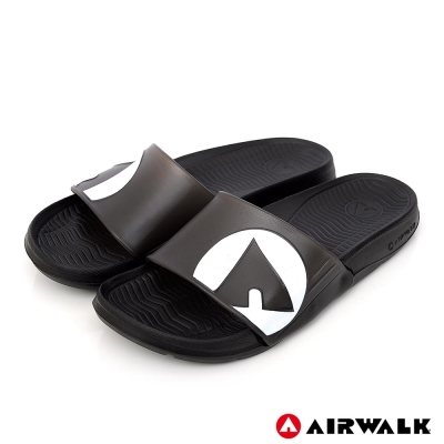 AIRWALK - 水漾果凍AB拖-黑色