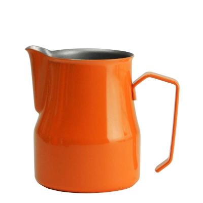 義大利MOTTA 2675專業拉花杯 750ml 橘色(HC7094OR)