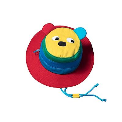 WHY AND 1/2 普普熊棉質遮陽帽