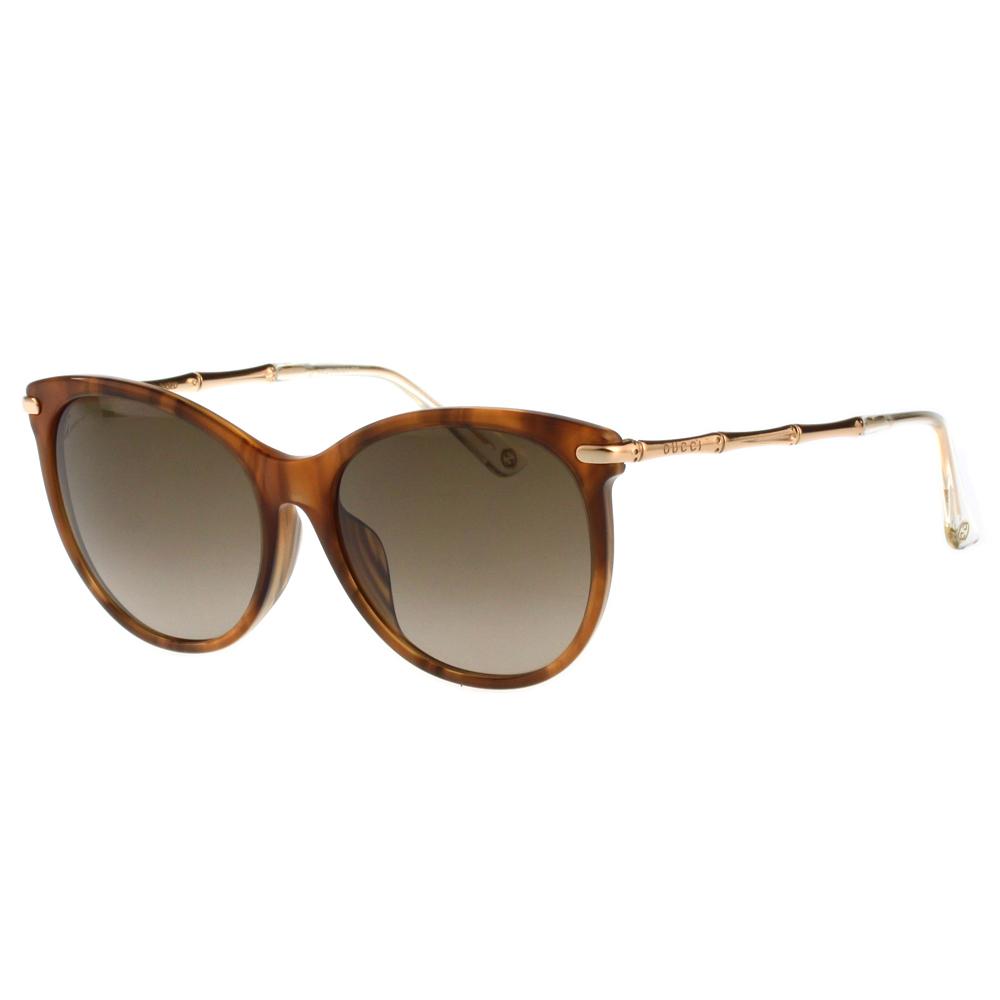 GUCCI-全智賢最新廣告款 太陽眼鏡(木紋色) @ Y!購物