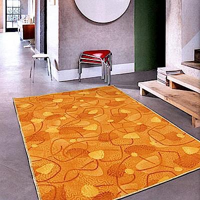 【范登伯格】尚雅★藍道圈毛編織地毯-(橘)-200x260cm