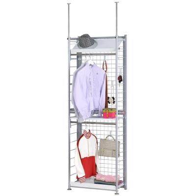 巴塞隆納─K 3 型伸縮屏風衣櫥架展示架置物架