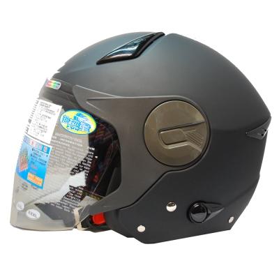 ZEUS瑞獅3/4罩式ZS-612A安全帽(消光黑)