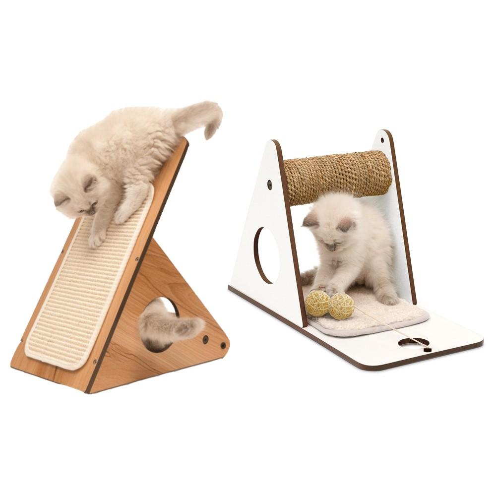 赫根Hagen Vesper貓用實木家具《三用途遊戲台》