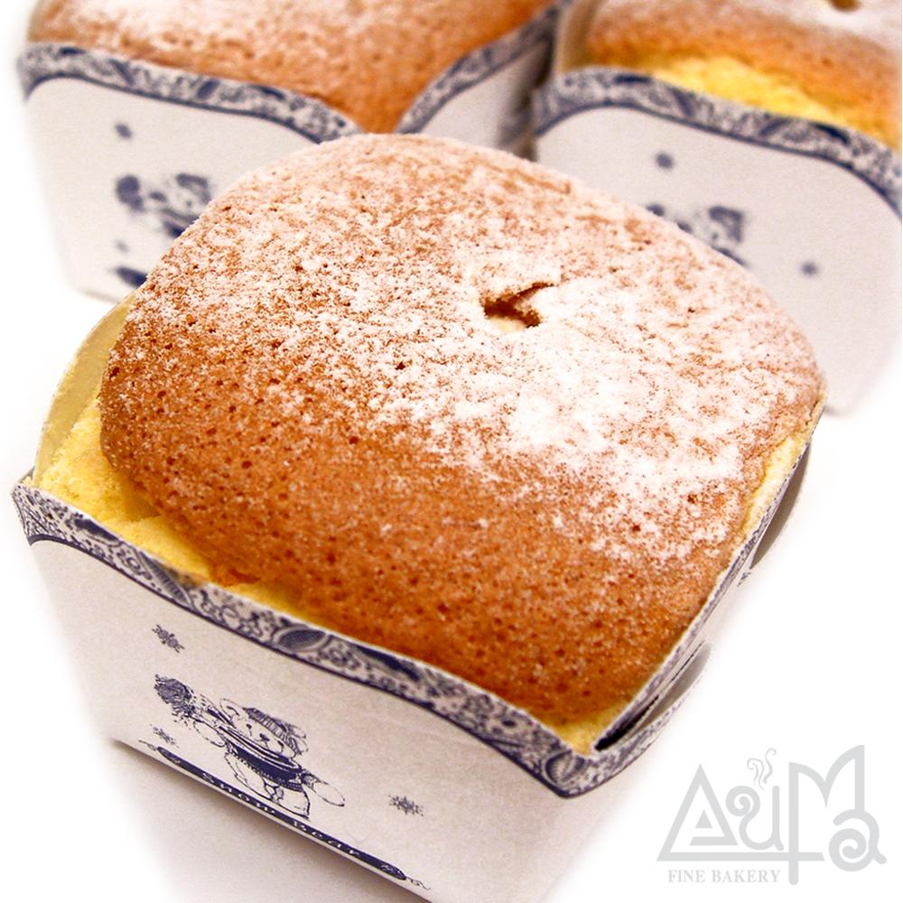 【奧瑪】北海道牛奶戚風蛋糕x3盒(共24顆)