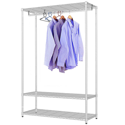 《百變金鋼》120*45*180四尺衣櫥架