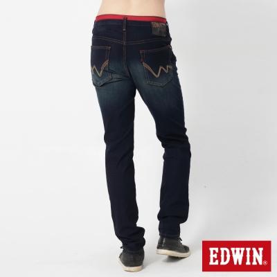 EDWIN 特大碼AB褲 迦績褲JERSEYS圓織休閒褲-男-原藍磨