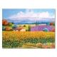 橙品油畫布-單聯自然風複製無框藝術掛畫-大地-30