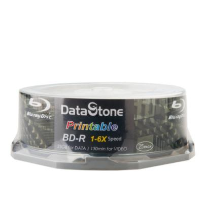 DataStone 超A級藍光 6X BD-R 25GB 滿版可印 桶裝 (50片)