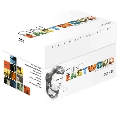 克林伊斯威特 8碟經典套裝 Clint Eastwood  藍光 BD