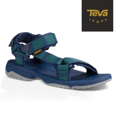 TEVA 美國 男 Terra Fi 經典緹花織帶涼鞋 (藍)