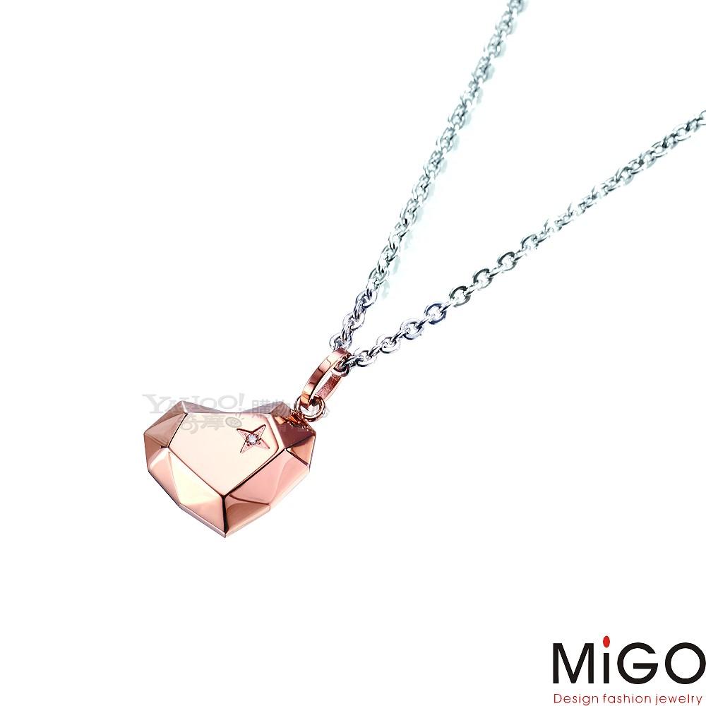 MiGO-愛的焦點M(玫瑰)女墜