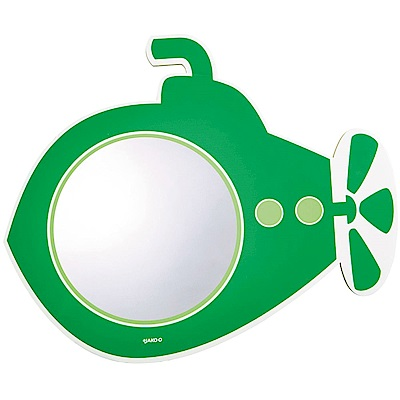 JAKO-O德國野酷 浴室壁貼鏡 潛水艇