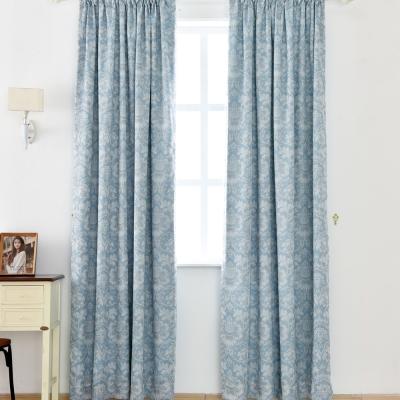 伊美居 - 蒙地卡羅雙層遮光落地窗簾 130x230cm(2件)