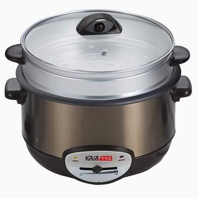 KRIA可利亞-金玉滿堂蒸煮電火鍋-料理鍋-調理鍋