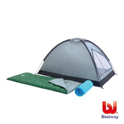 帳篷、睡袋、睡墊-雙人露營套裝組(68000)