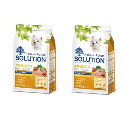 耐吉斯SOLUTION 成犬 火雞肉田園蔬菜配方1.5kg (2包組)