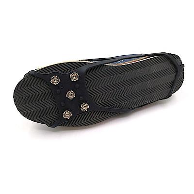 糊塗鞋匠 優質鞋材 G110 5齒圓型雪地防滑鞋套 (雙)