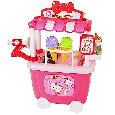 Hello Kitty 冰淇淋車