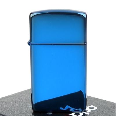 ZIPPO美系-超質感Sapphire藍寶色鏡面打火機
