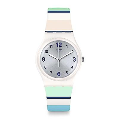 Swatch 情迷地中海 MARINAI 藍色港灣手錶