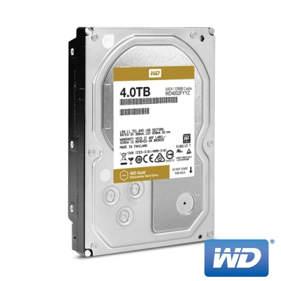 WD威騰 WD4002FYYZ Gold 4TB 3.5吋企業級硬碟