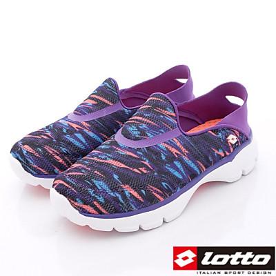 Lotto樂得-健體步行系列-TH777紫-女段