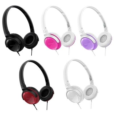 Pioneer輕巧頭戴式耳機SE-MJ502