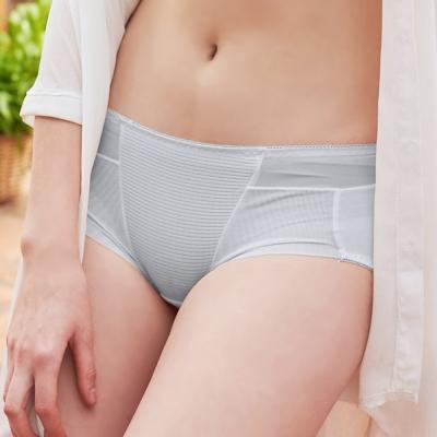 Emon 濃情絲蜜系列平口褲(銀灰)