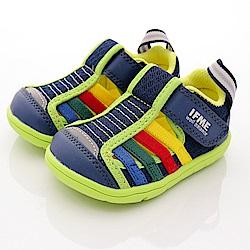 IFME健康機能鞋 排水鞋款 SE01765藍(寶寶段)