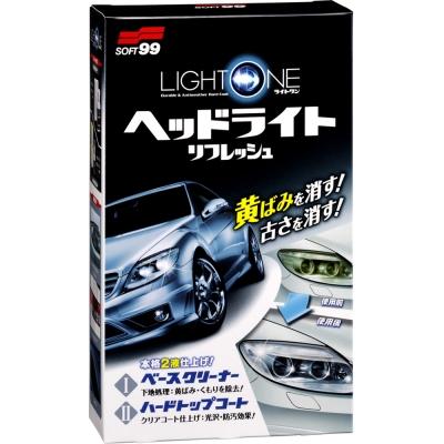 日本SOFT 99 車燈罩去污、保護劑-快