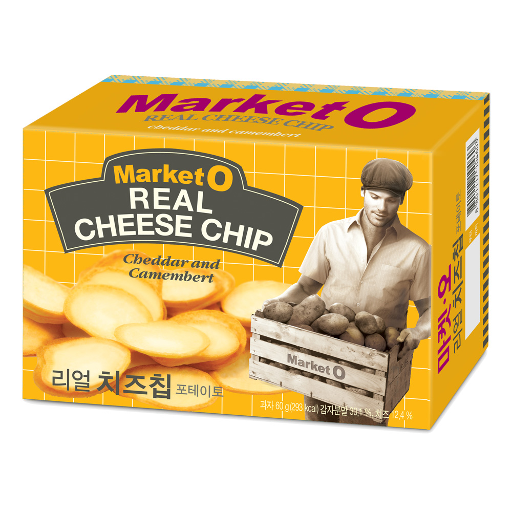 Market O 起司洋芋片(62g)