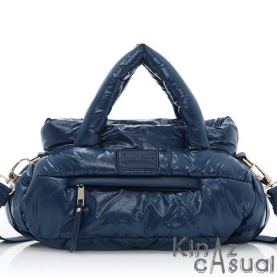 KINAZ casual 輕巧隨行兩用斜背包-炫光藍-空氣漫步系列